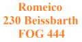 Romeico 230 Beissbarth / FOG 444 Lifts spare parts