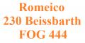 Romeico 230 Beissbarth / FOG 444 Ersatzteile