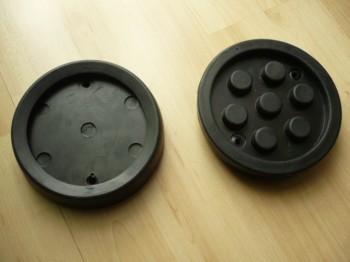 Auflageteller Gummiteller Gummiauflage für Slift Hebebühne (130mm x 28mm)