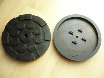lift pad, rubber pad, rubber plate for Hofmann Duolift Type BTE 2500 / GT 2.5 / GTE 2500 (120mmx16mm)