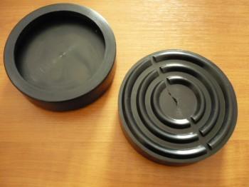 Auflageteller Gummiteller für Autec Hebebühne u.a. Typ AMPJ 26 (110mm x 32mm)