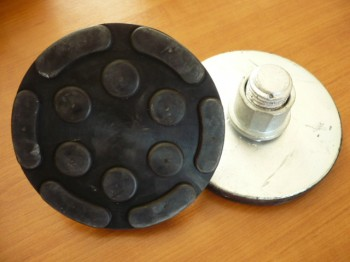 Aufnahmeerhöhung mit Drehteller für Zippo Hebebühne Typ u.a. 2135 / 17er Serie (134mm x  17mm mit Stahlteller)
