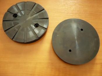 Auflageteller Gummiteller für Autec Hebebühne (120mm x 16mm, verstärkte Ausführung)