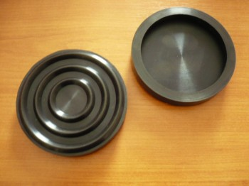 lift pad, rubber pad, rubber plate for Autec lifting platform (100mm x 26mm)