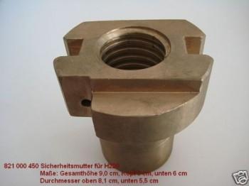 Sicherheitsmutter für Hebebühne Typ Romeico H220 / Zippo 1135 / Koni KO2M20 KN2 M20 3532/T719