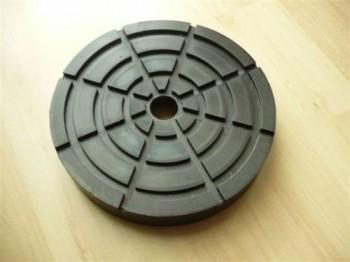 Auflageteller Gummiteller Gumiauflage für Hebebühne (160mm x 28mm)
