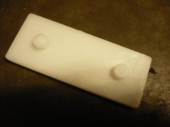1 Paar Gleitstücke Gleitscheiben Gleitelemente für RAV Ravaglioli KPN KPX Ausführungen