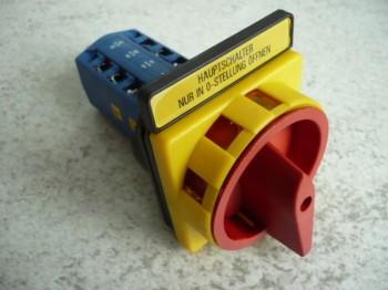 Hauptwendeschalter Steuerschalter für Zippo Hebebühne Typ 1250 (für Blechkasten bzw. Schaltkasten)