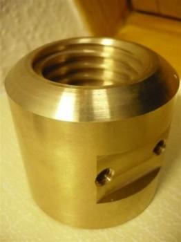 Tragmutter für AFV Sopron Hebebühne Typ CE 300 (Trapezgewinde 45x6, 68mm cm Durchmesser und 64mm Länge)