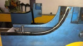 Door Guard, Door stop, door stop strip, flap, edge protection for Romeico H225 H226 etc. Lift