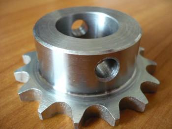 """Kettenrad Antriebsritzel Ritzel für ISTOBAL 42712-04 od. Blitz Sprint Hebebühne (1/2"""" Kettenrad unten mit Spannstift)"""