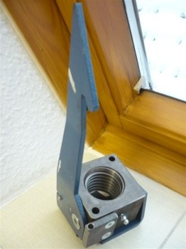 Sicherheitsmutter für Nussbaum Hebebühne Typ SL 2.30 SL 2.32 SL 2.40 / SLE 2.30 SLE 2.32 SLE 2.40 (TR 45x6)