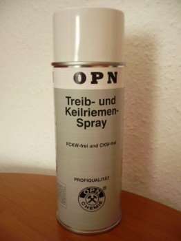 v-belt spray, maintenance Spray for lifts of all kinds