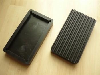 Auflageteller Gummiauflagen für Hofmann Duolift Typ GT 2.5  (91mm x 162mm)