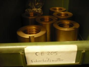 Sicherheitsmutter für AFIT Sopron Typ CE 205, CE 206 H / AFV Sopron CE 205 / CE 205T Hebebühne (mit Trapezgewinde 49x6)