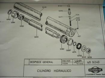 Dichtsatz Dichtung Manschette Hydraulikzylinder 9240 ISTOBAL 42724-04 Bühne Lift