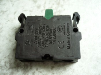 Kontaktblock Kontaktelement für Steuerschalter Zippo Hebebühne Typ 2405 2305 (Öffner)