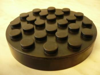 Auflageteller Gummiteller Gummiauflage für Ravaglioli (120mm x 25mm ohne Stifte)