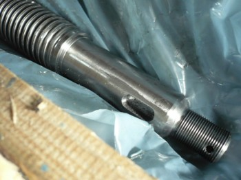 Spindel (Gewindestange) für Nußbaum Typ SL 2.25 SL 2.30 SL 2.32 Hebebühne TR 45mm x 6mm