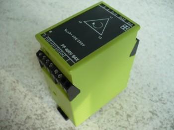Polwendeschaltung Überwachungsrelais Spannungsüberwachung Tele Haase PF400VS4X