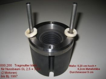 Tragmutter für Nußbaum Hebebühne Typ SLE 2.25 SLE 2.30 SLE 2.32 und SL (TR 45x6)