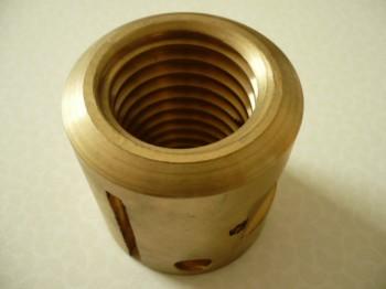 Tragmutter für AFIT Sopron Typ CE 205, CE 206 H / AFV Sopron CE 205 / CE 205T Hebebühne (mit Trapezgewinde 49x6, 64mm Länge u. 64mm Außendurchmesser)
