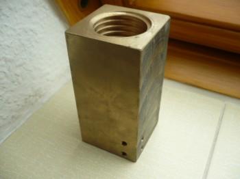 Sicherheitsmutter für Zippo Hebebühne Typ 1590 1590 LS 5t 45x5x120mm