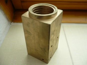 Tragmutter für Zippo Hebebühne Typ 1590/1590 LS (rechteckig mit Lageraufnahme) 5 Tonnen
