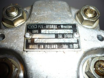 Hydraulikpumpe Zahnradpumpe Hydral Wroctaw Hydraulik TGL37069 A 6,3 R (1 bis 2 Tonnen Scherenbühne)