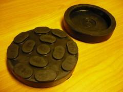 Auflageteller Auflageplatte Gummiteller für RAV Ravaglioli (100mm x 21mm)