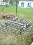 VEB Mastkletterbühne Arbeitsbühne Hebebühne FH 1600 /1 DDR Bauaufzug Lift Gerüst
