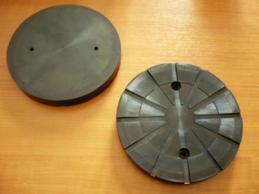 Auflageteller Gummiteller für Autec Hebebühne (150mm x 18mm, verstärkte Ausführung)