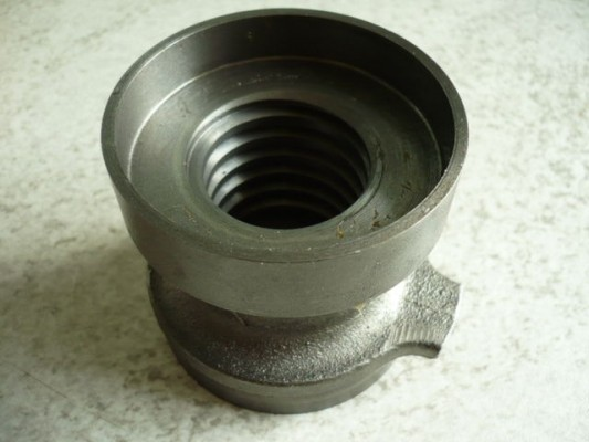Safety nut for Hofmann Duolift 2500 GT/GTE BT/BTE MT/MTE 2500 / MSE 5000 / BE 3200