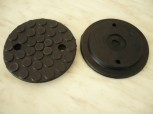 lift pad, rubber pad for JAB Becker lift Type Twinlift TW-250 / MD 155 K22 (120mm x 21mm)