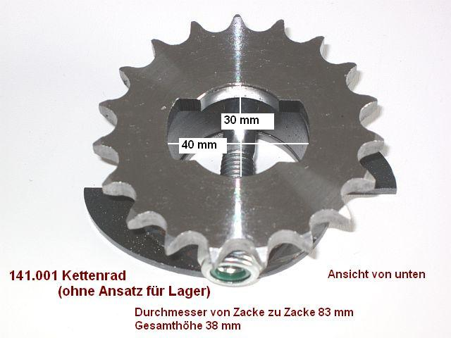 Nussbaum Kettenrad GTE 2500 DUOLIFT