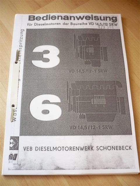 DDR Gabelstapler Anleitung Takraf Stapler DFG 3202 N