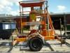 Kuli KF 9 Arbeitsbühne Hubbühne Hebebühne auf Anhänger Fahrgestell
