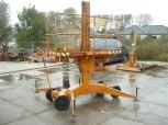 VEB Construction Lift Platform Type SFG 1000 Geschwenda Lift Work Platform Mast climbing platform