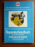 Reparaturhandbuch bzw. Anleitung für DDR Gabelstapler Takraf Stapler DFG 3202 N