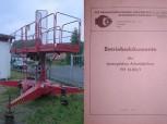 Anleitung Betriebsdokumente für VEB EAW Arbeitsbühne Baubühne Typ FH1600/1 FH1600