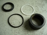 Seal kit Gasket Support ring gasket Hydraulic cylinder Becker TW 250 / DW 25005