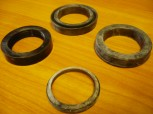 sealing gasket set Nutring Orsta hydraulic cylinder TWS VEB DDR RS 09 GT 124 / T159 (rod = 40 mm diameter)