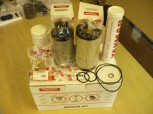 Service filter maintenance kit oil filter fuel filter Yanmar SV 15 17 mini excavator