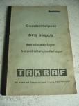 VEB DDR Gabelstapler Anleitung Bedienanweisung Takraf VTA Stapler DFG 2002 /2