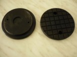 lift pad, rubber pad for JAB Becker lift TW250 (120mm x 20mm)