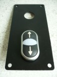 Double control panel button for zippo lift type 1730 1731 1735 (Control button sheet + double pushbutton)