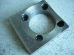 retaining plate, plate for lift nut or load nut zippo 2 post lift Type 1111 1401 1411 / 4 tons lift