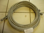 Set control cable, shift cable for Longus Car lift Hermann type CL 2.40 M / 4 tons