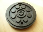 lift pad, rubber pad, rubber plate for Maha ECON 3 / Slift CO 2.30 E3 / Slift CO 2.35 E3 lift (120mm x 22mm)