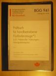UVV Prüfbuch Flurförderzeug Hubwagen Hebelroller BGG 941